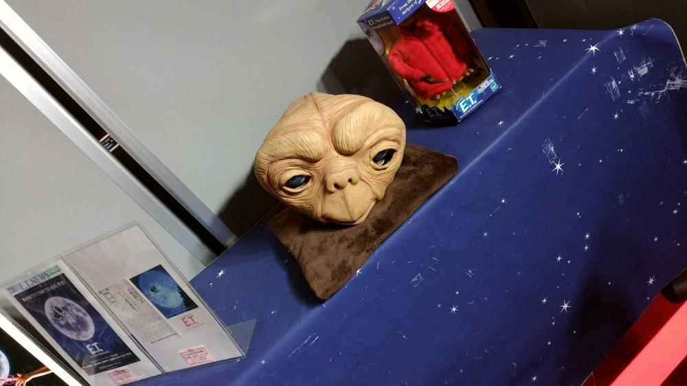 ETの生首
