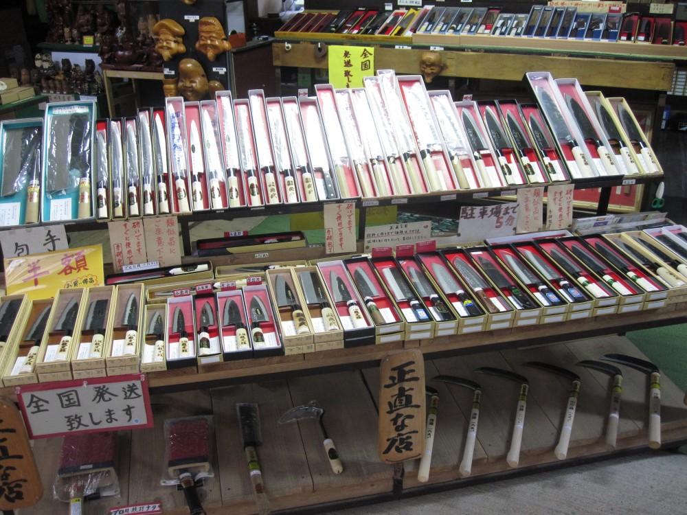 土佐刃物の販売所