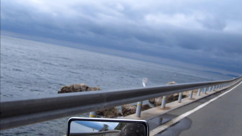 愛媛の海岸線