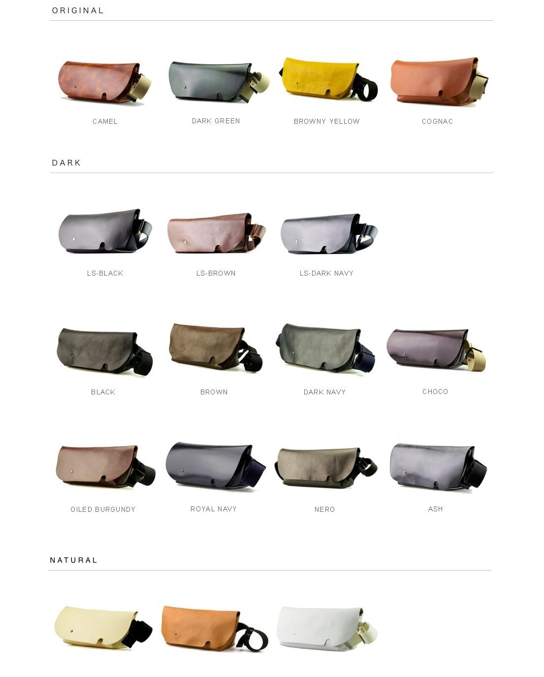 uni&co バッグの色