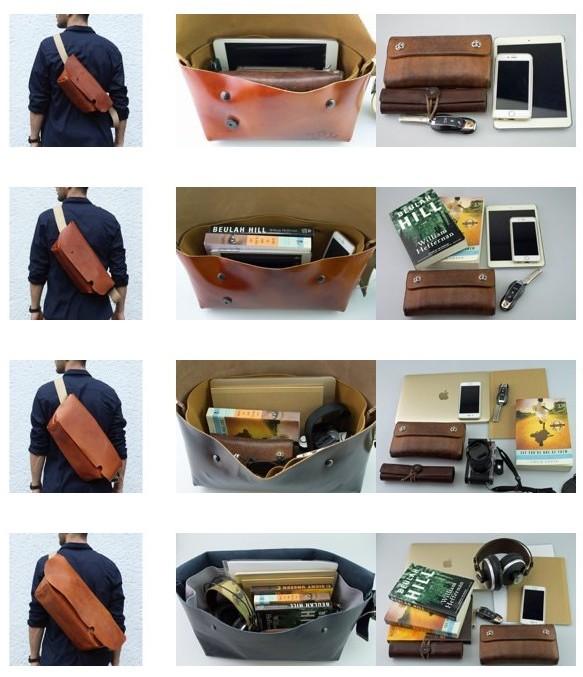 uni&co バッグのサイズ